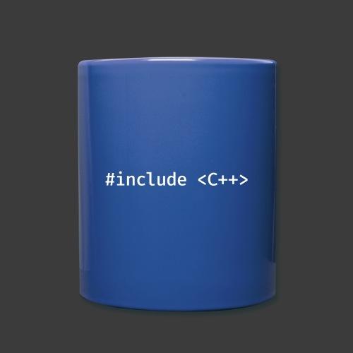 White Include Logo - Full Color Mug
