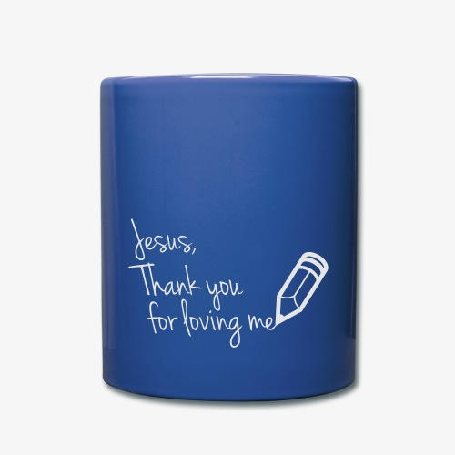 thank you Jesus - Full Color Mug