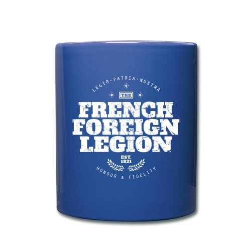 The French Foreign Legion - White - Full Color Mug