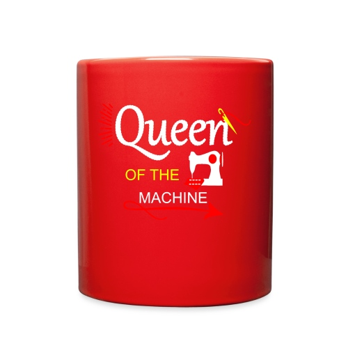 QUEEN OF THE MACHINE - Full Color Mug