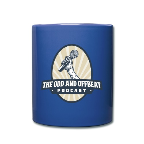 The Odd and Offbeat Podcast Logo - Full Color Mug