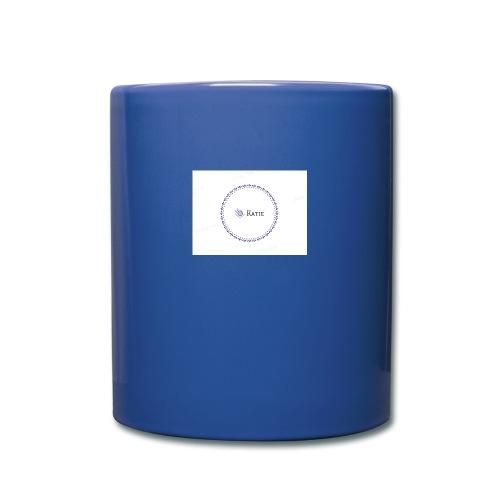 Blue Ring Volleyball (Katie) design logo - Full Color Mug