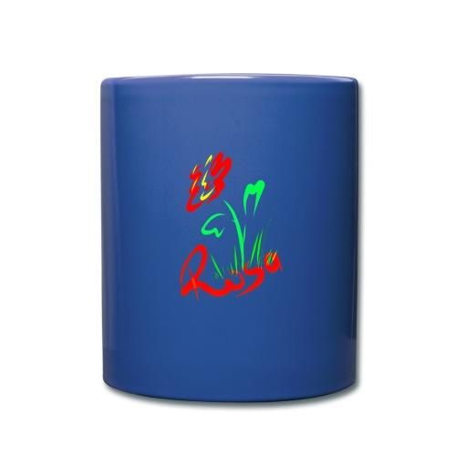 Red rose design - Full Color Mug