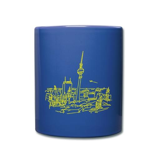 Panorama of Berlin - Full Color Mug