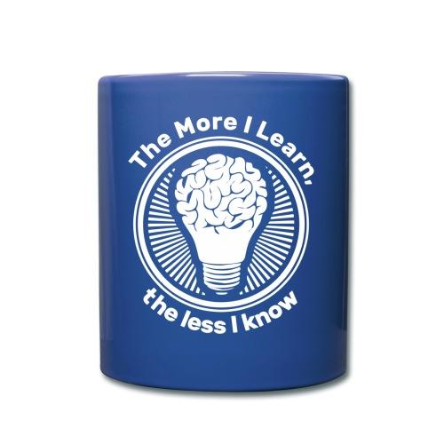 logo The More I Learn the Less I know - Full Color Mug