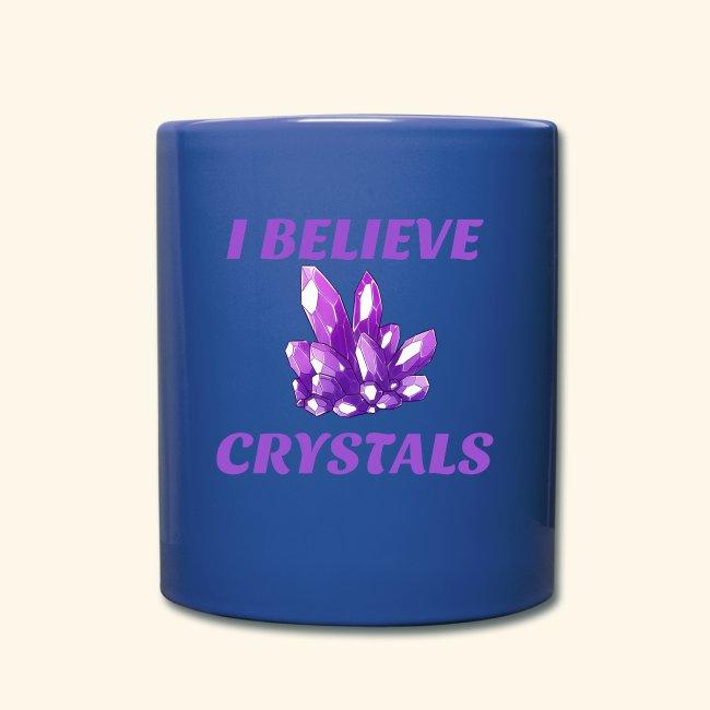 I BELIEVE IN CRYSTALS TEE