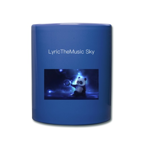 """LyricTheMusic Sky"" MERCH - Full Color Mug"