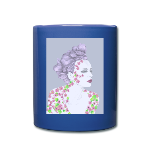 The Girl With The Flower Tattoo - Full Color Mug