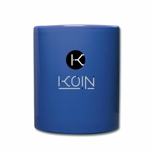 KOIN LOGO GRAYSCALE TRANSPARENT - Full Color Mug