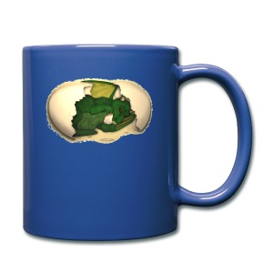 The Emerald Dragon of Nital - Full Color Mug