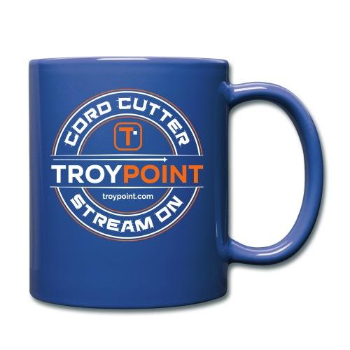 TROYPOINT Cord Cutter - Orange Logo - Full Color Mug