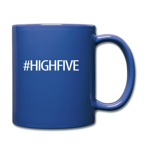 hashtag highfive png - Full Color Mug