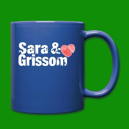 SARA & GRISSOM - Full Color Mug