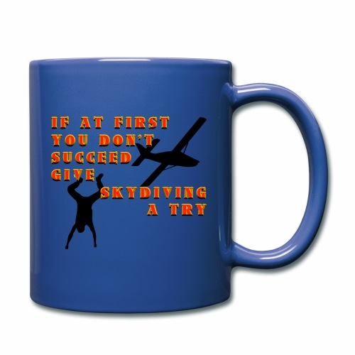 Try Skydiving - Full Color Mug
