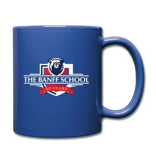 50th Anniversary Crest - Blue - Full Color Mug