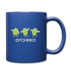 android logo T shirt - Full Color Mug