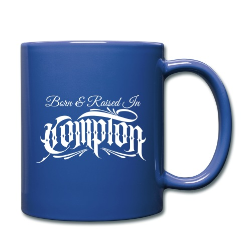 born and raised in Compton - Full Color Mug