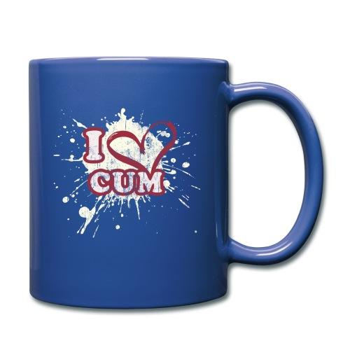 I Heart Cum (Splatter) - Full Color Mug