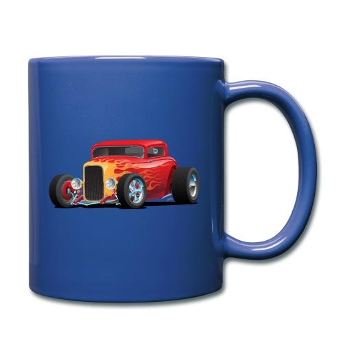 Classic Bold Red Custom Street Rod - Full Color Mug