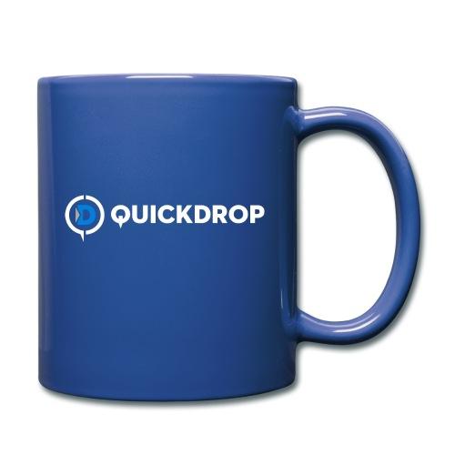 QD logo all white - Full Color Mug
