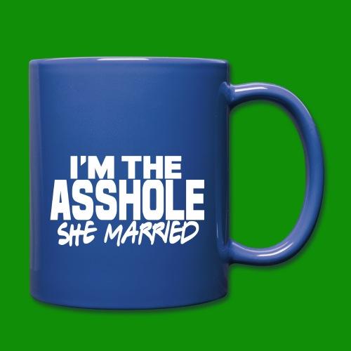 A@$hole She Married - Full Color Mug
