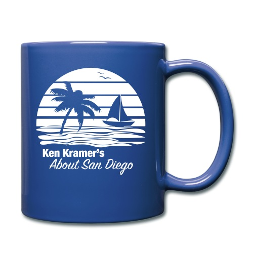 Ken's Awesome Monochrome Logo - Full Color Mug