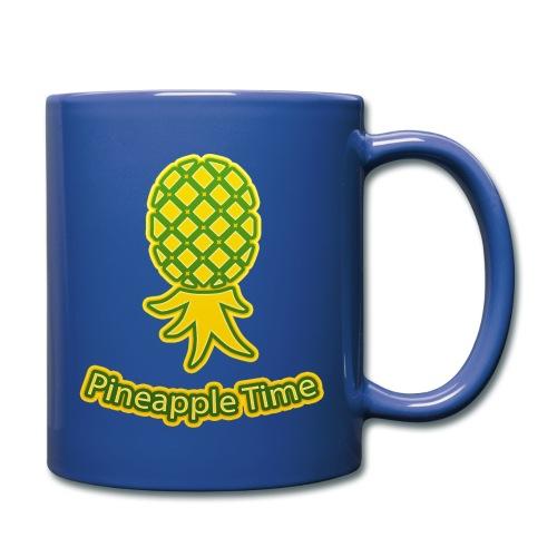 Swingers - Pineapple Time - Transparent Background - Full Color Mug