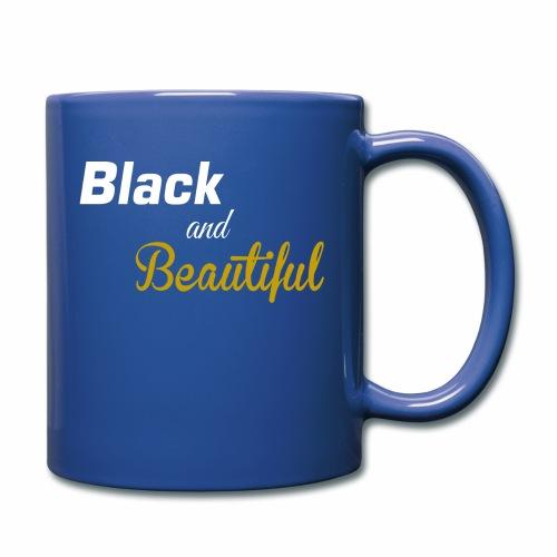 Black & Beautiful Long Sleeve Shirt - Full Color Mug