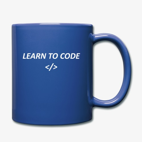 Learn to code - Full Color Mug