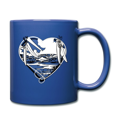 Earth is for Earth Lovers - Full Color Mug