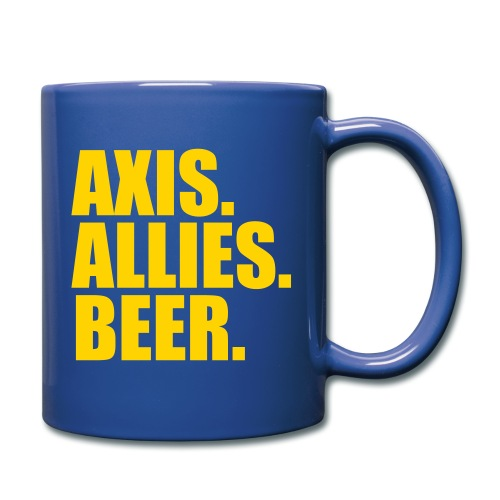 Axis. Allies. Beer. Axis & Allies - Full Color Mug