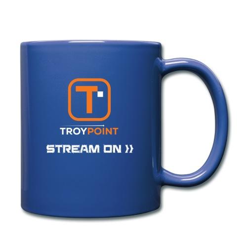 TROYPOINT Stream On Orange Logo - Full Color Mug