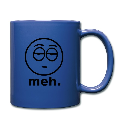 Meh Face - Full Color Mug