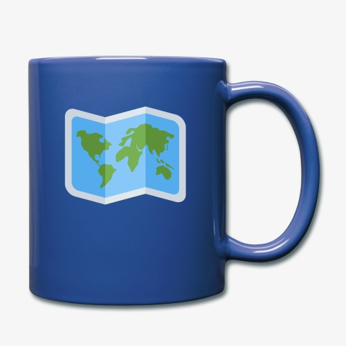 Awesome artsy Earth map - Full Color Mug