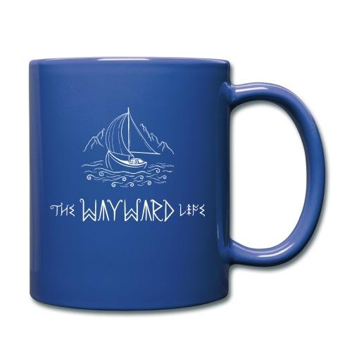 The Wayward Life White Logo - Full Color Mug