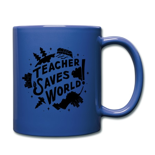 TSW! Retro World Design - Full Color Mug