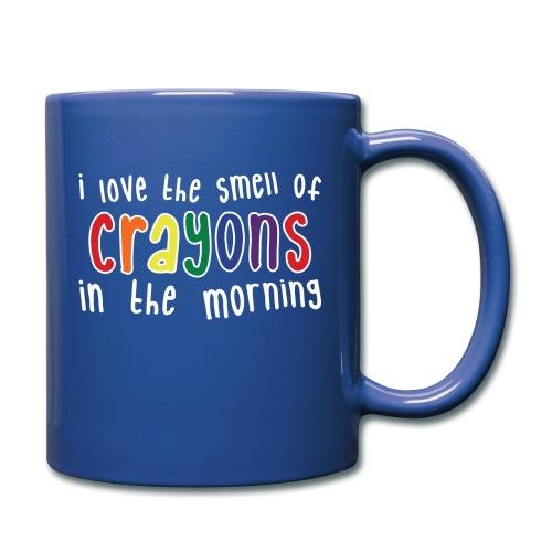 Crayons dark - Full Color Mug