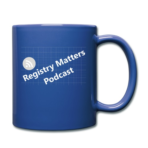 Registry Matters Podcast - Full Color Mug