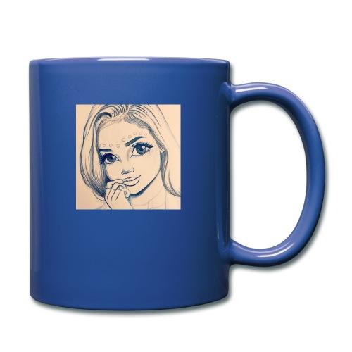 c7cae63168a24ef3c45fb8482aa467a3 drawing girls - Full Color Mug