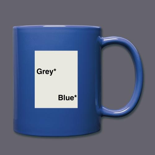 Grey* Blue* - Full Color Mug