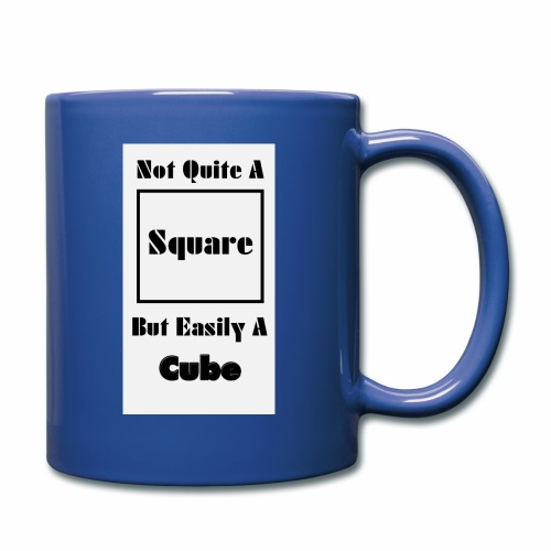 Not Quite A Square But Easily A Cube - Full Color Mug