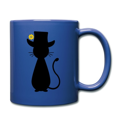 Cats - a Cat with a Hat - Full Color Mug
