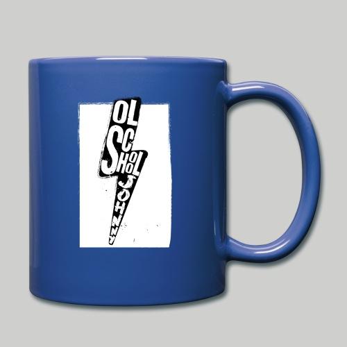 Ol' School Johnny Black and White Lightning Bolt - Full Color Mug