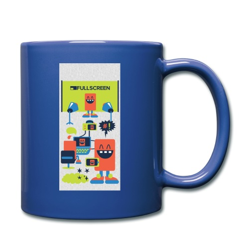 iphone5screenbots - Full Color Mug