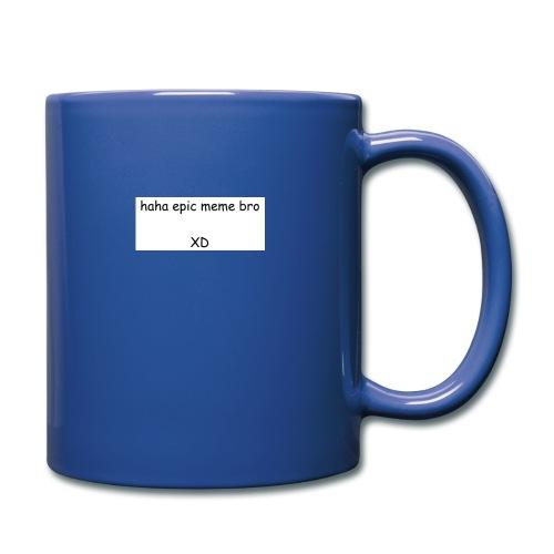 epic meme bro - Full Color Mug