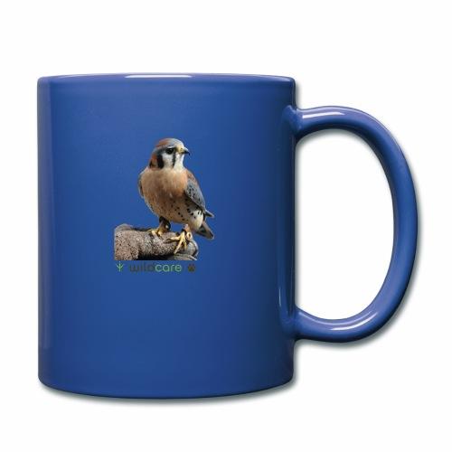 WildCare's non-releasable ambassador Kestrel Kele - Full Color Mug