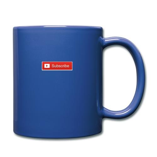 YOUTUBE SUBSCRIBE - Full Color Mug