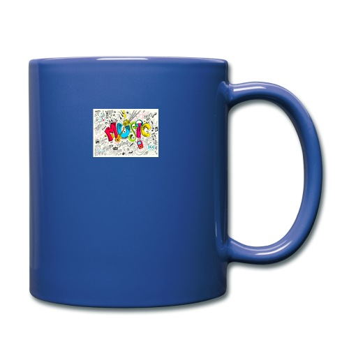 music banner - Full Color Mug