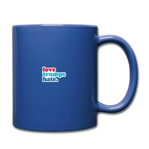 Love Trumps Hate - Full Color Mug
