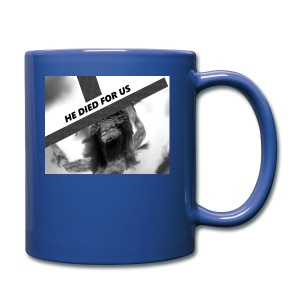 He died for us - Full Color Mug